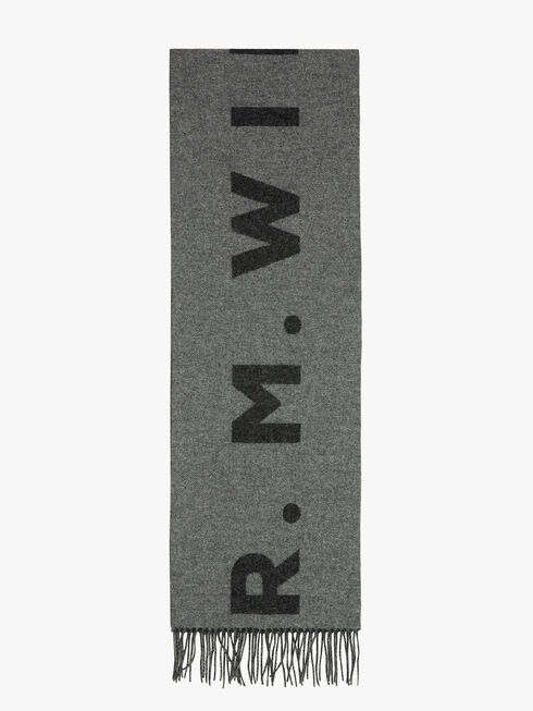 R.M.Williams Logo Scarf