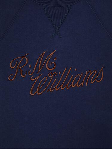 R.M.W Script Crew Neck Sweater