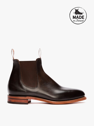 RM Williams Chelsea Boots Burnished Macquarie Boot