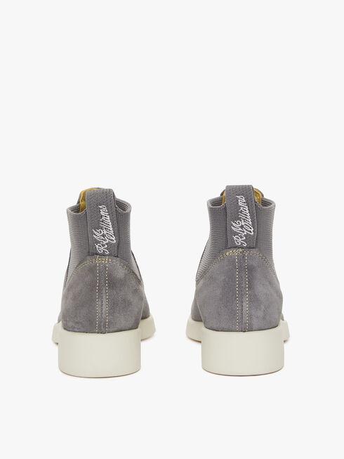 Grey Off White