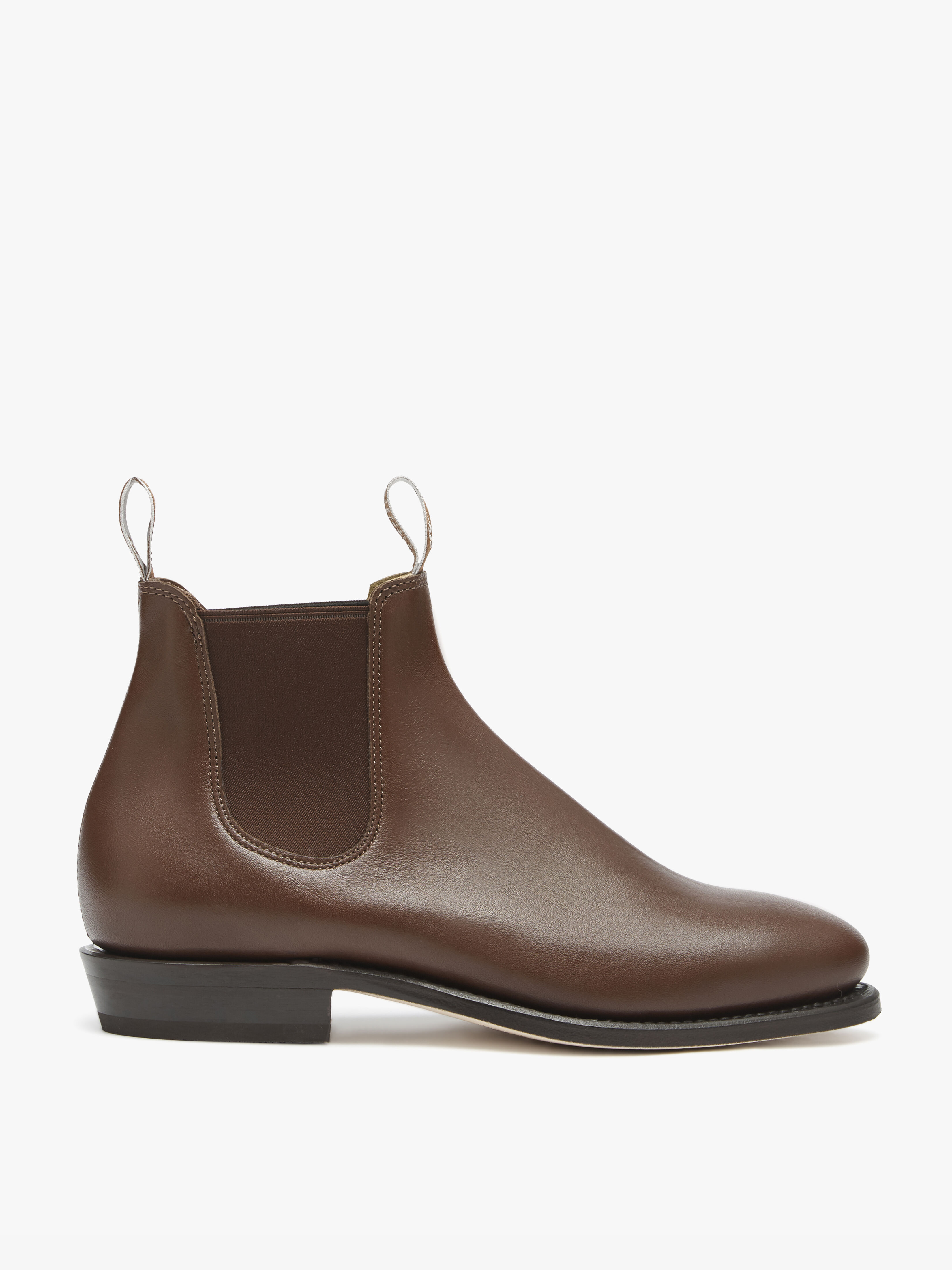 Adelaide Boot Yearling Leather