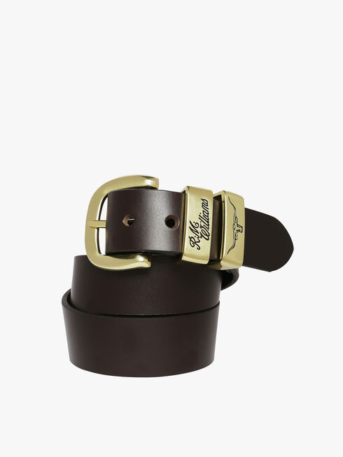 "1 1/2"" 3 Piece Solid Hide Belt"
