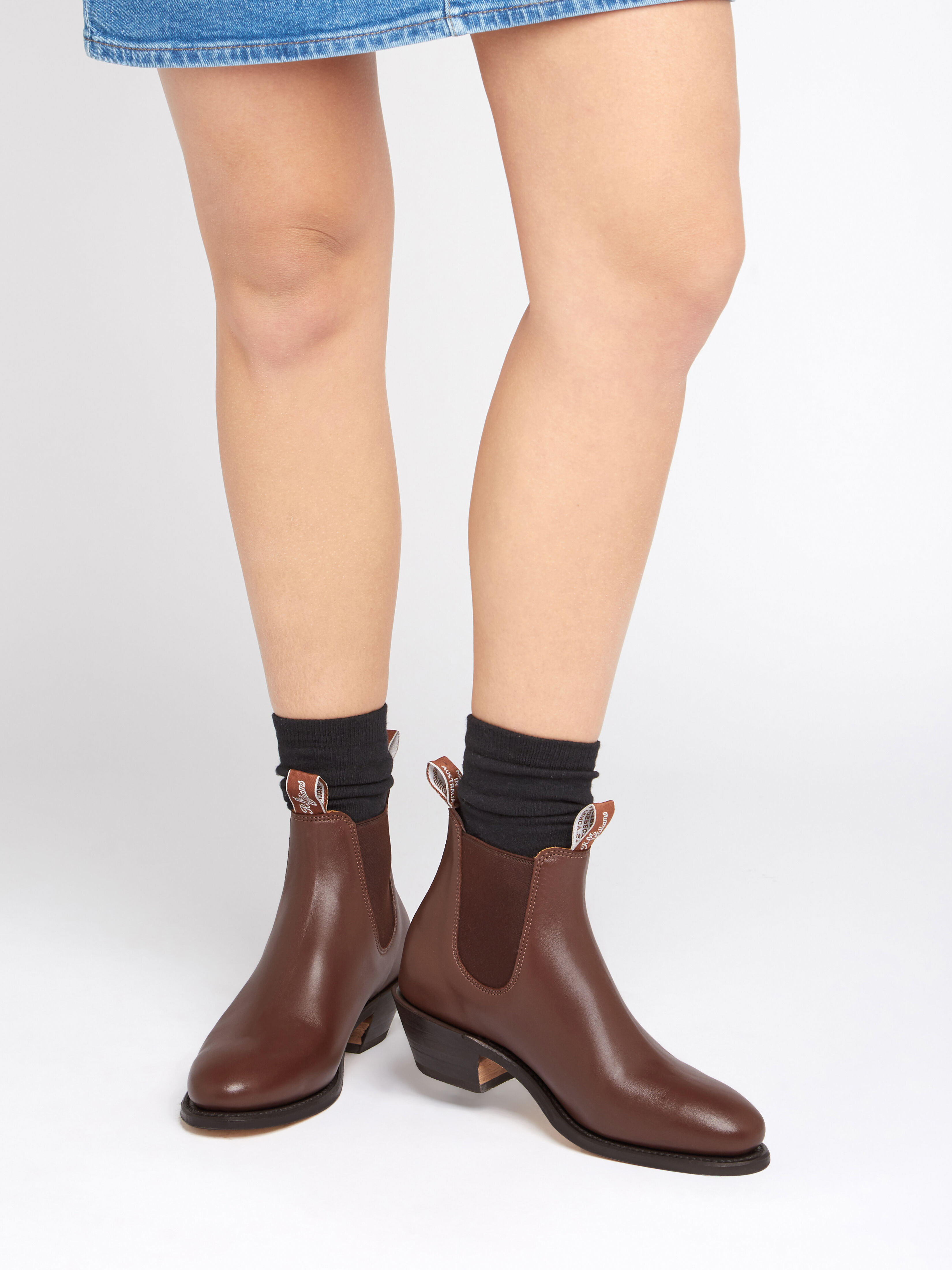 Adelaide Cuban Heel Women's Boots at R.M.Williams®