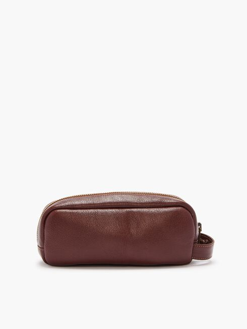 Leather Travel Care Kit
