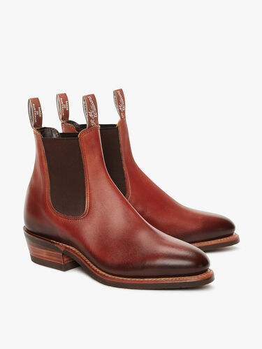 Burnished Lady Yearling Boot