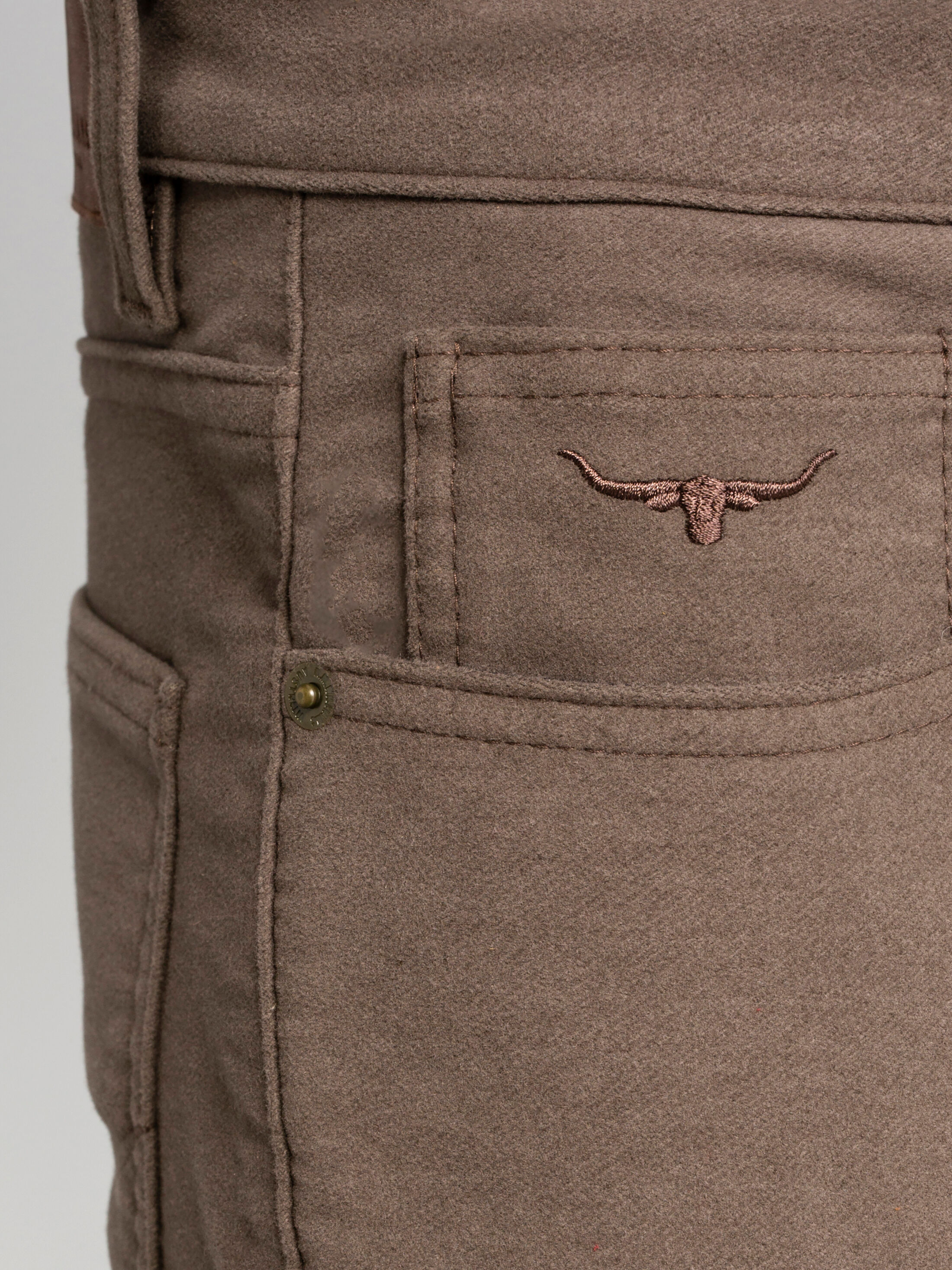 Ramco Jeans Navy \u0026 Taupe - Men's Jeans