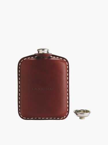 Hip Flask with Embossed Logo