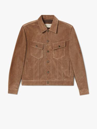 RM Williams Coats Jackets & Vests Suede Rider Jacket