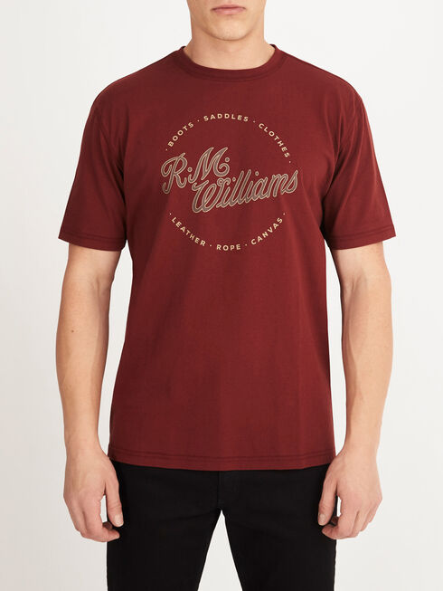 Script Stamp T-Shirt