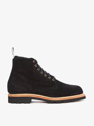 RM Williams Lace Up Boots Urban Rickaby Shearling Boot