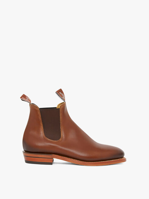 Burnished Adelaide Boot