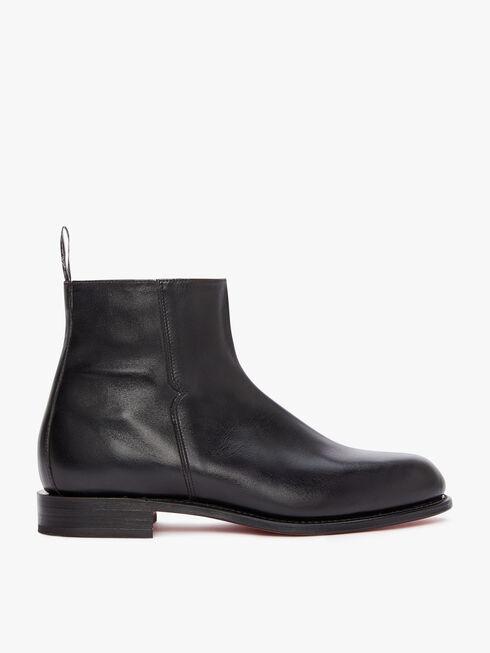 Burnished Balmoral Boot