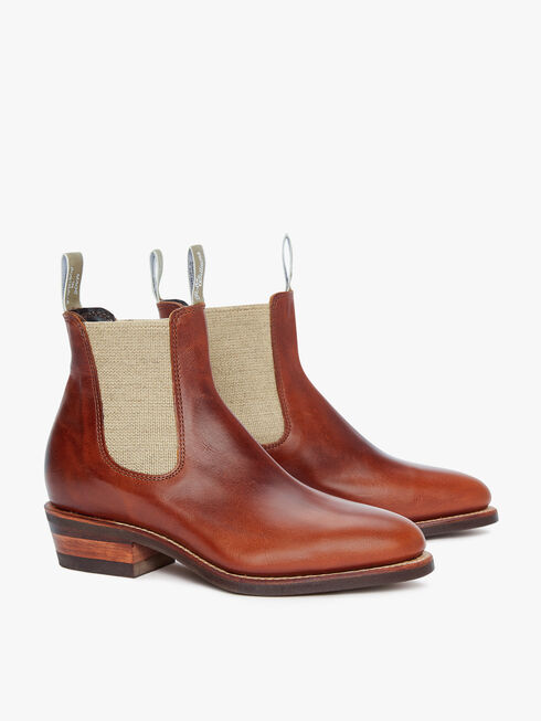 Lady Yearling Rubber Sole Boot
