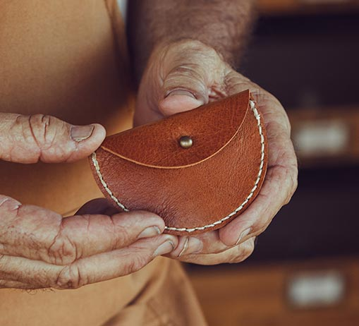 Leather Earbud Pouch Maker Kit