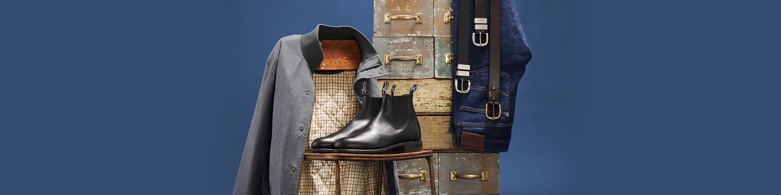 R.M.Williams Christmas Classics Boot & Belt