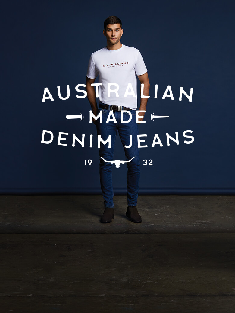New fits men's denim