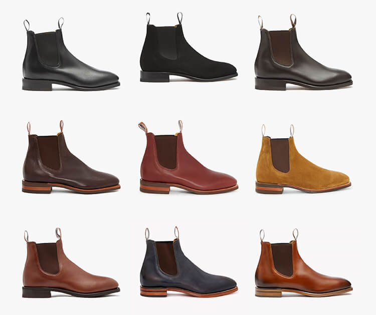 R.M.Williams Craftsman boot collection