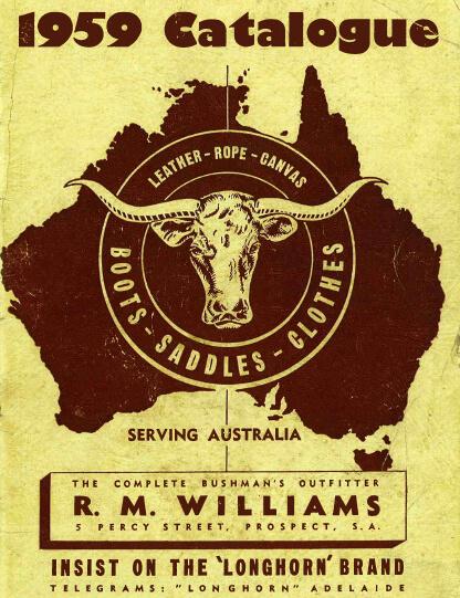R.M.Williams 1959 catalogue