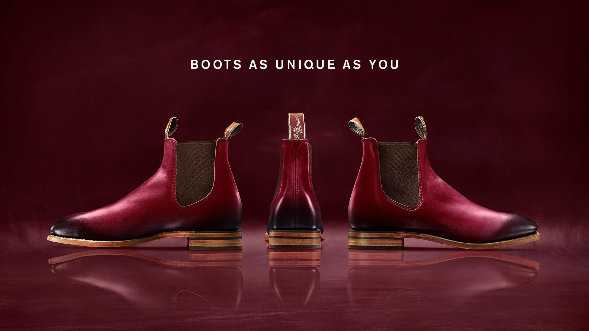 Boots as unique as you