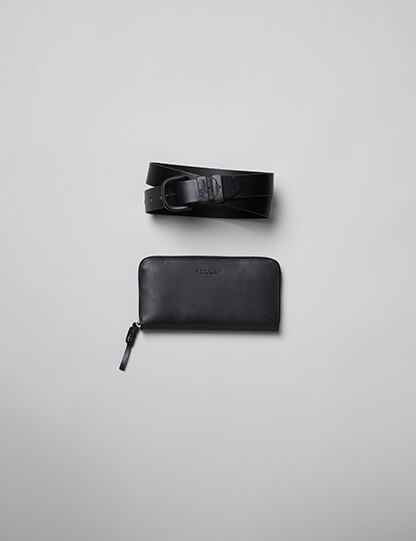 Belt and wallet gift set